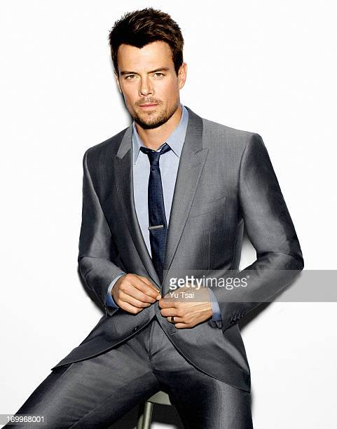Actor Josh Duhamel is photographed for In Style Man Russia on February 16 2013 in Los Angeles California COVER IMAGE