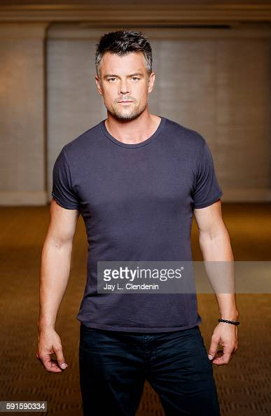 Actor Josh Duhamel is photographed for Los Angeles Times on August 7 2016 in Los Angeles California