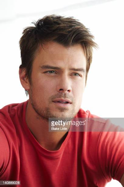 Actor Josh Duhamel is photographed for USA Weekend on April 21 2011 in Los Angeles California