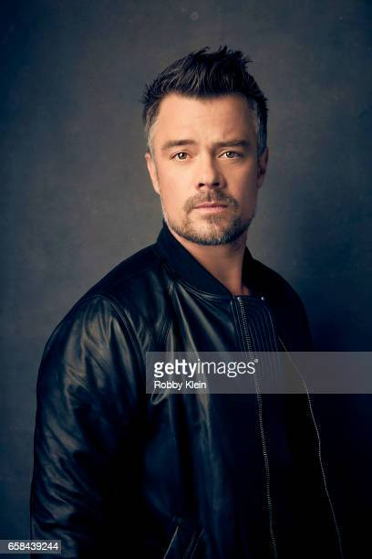 Actor Josh Duhamel of 'This is Your Death' poses for a portrait at The Wrap and Getty Images SxSW Portrait Studio on March 11 2017 in Austin Texas