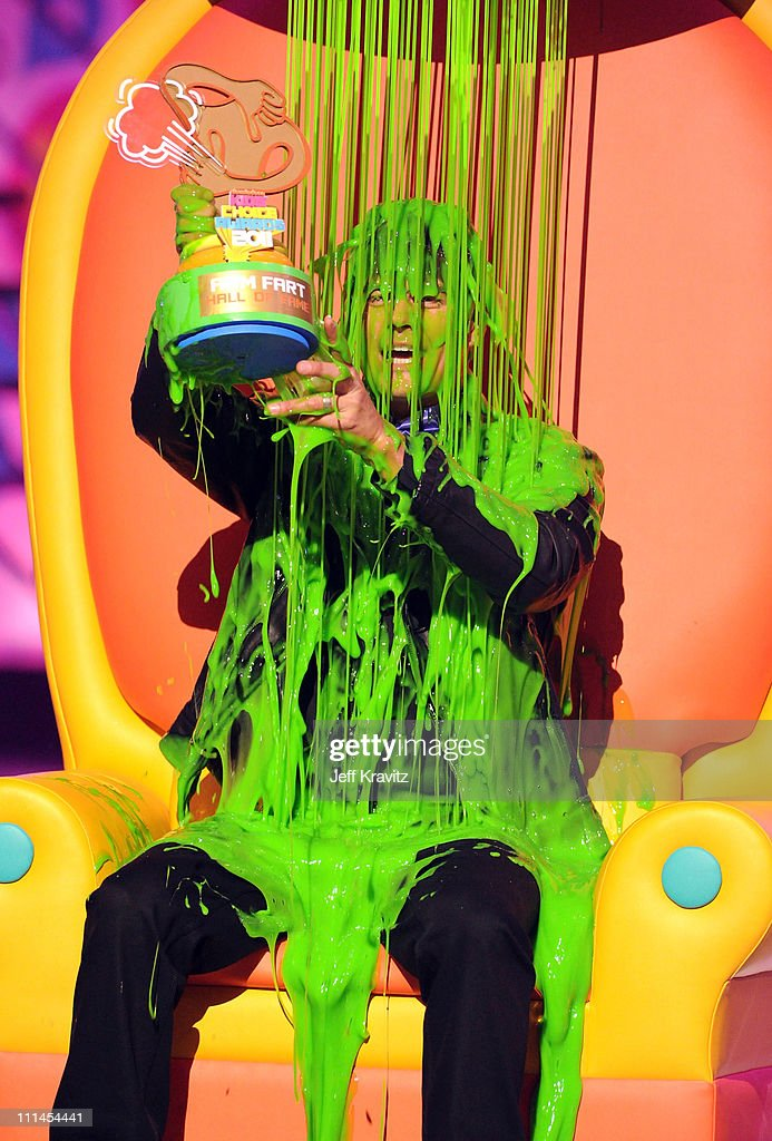 Actor Josh Duhamel onstage during Nickelodeon's 2011 Kids' Choice Awards at Galen Center on April 2 2011 in Los Angeles California