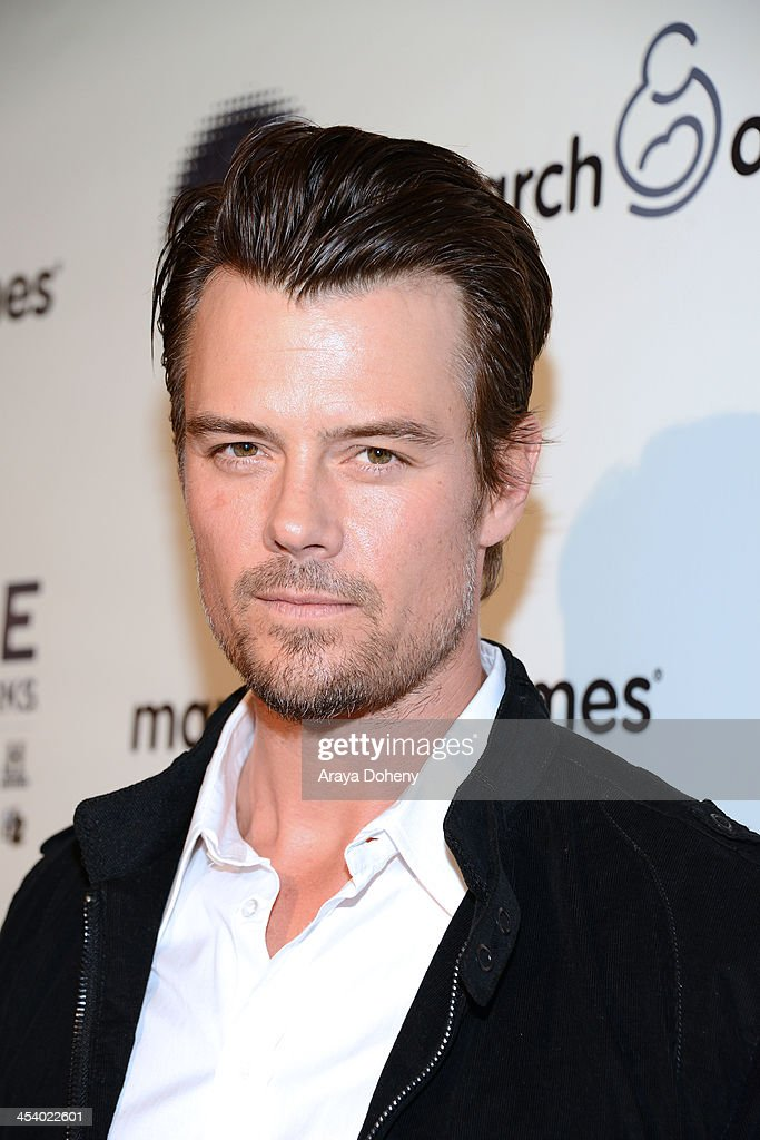 Actor Josh Duhamel<attends the March of Dimes Celebration of Babies Luncheon> at Beverly Hills Hotel on December 6, 2013 in Beverly Hills, California.