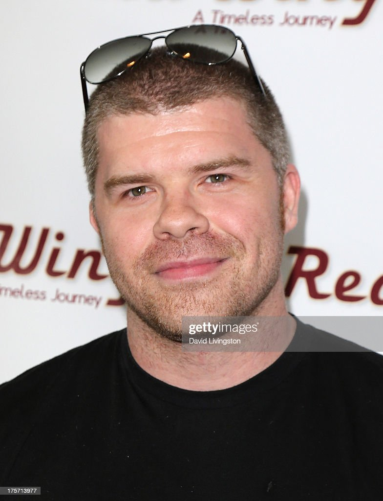 Actor Josh Emerson attends a screening of Integrity Film Production's 'Red Wing' at Harmony Gold Theatre on August 6, 2013 in Los Angeles, California.