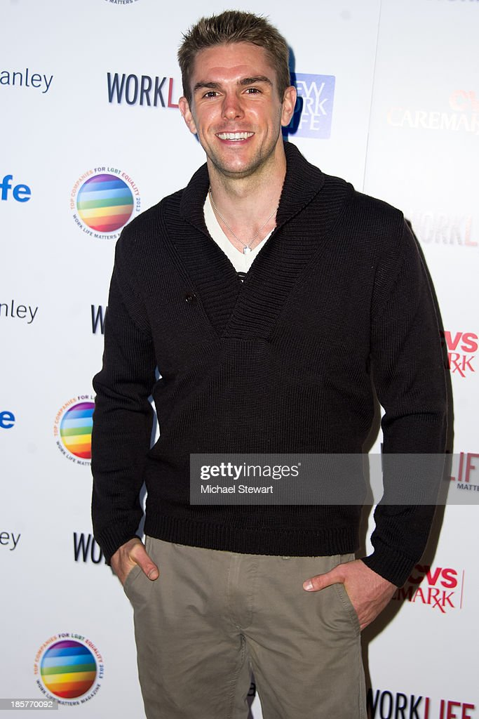 Actor Josh Folan attends the 11th Annual Work Life Matters gala at Club 101 on October 24, 2013 in New York City.