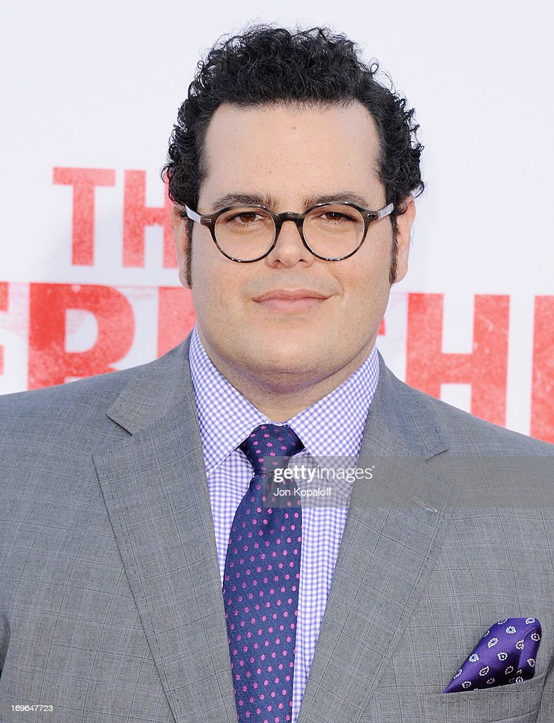 Actor Josh Gad arrives at the Los Angeles Premiere 'The Internship' at Regency Village Theatre on May 29, 2013 in Westwood, California.