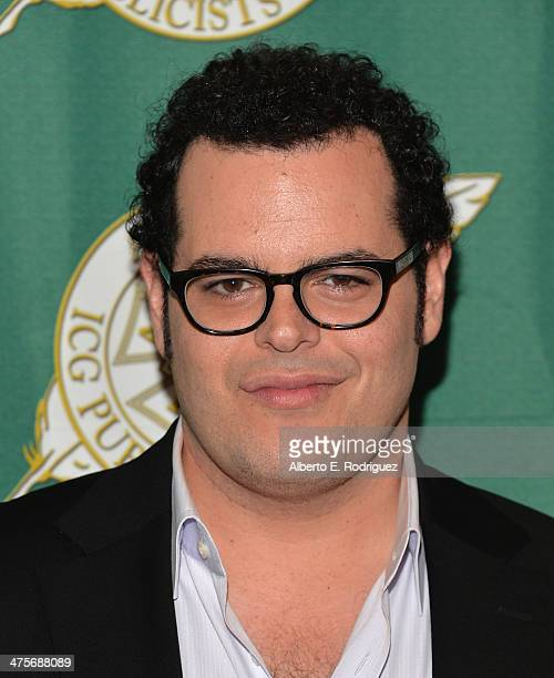 Actor Josh Gad attends the International Cinematographers Guild Presents The 51st Annual Publicists Awards Luncheon at Regent Beverly Wilshire Hotel...