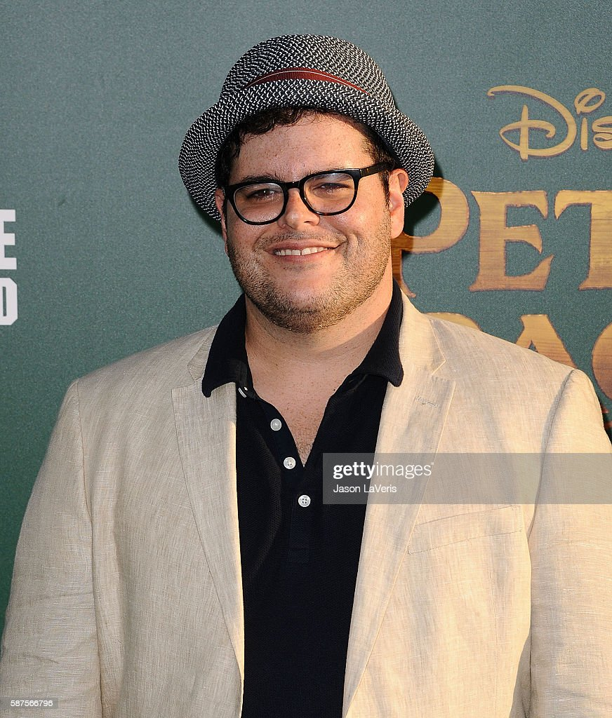 Actor Josh Gad attends the premiere of 'Pete's Dragon' at the El Capitan Theatre on August 8 2016 in Hollywood California