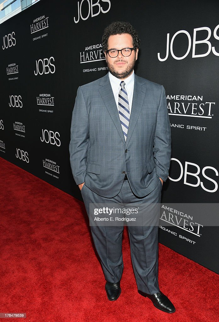 Actor <a gi-track='captionPersonalityLinkClicked' href=/galleries/search?phrase=Josh+Gad&family=editorial&specificpeople=4196023 ng-click='$event.stopPropagation()'>Josh Gad</a> attends the screening of Open Road Films and Five Star Feature Films' 'Jobs' at Regal Cinemas L.A. Live on August 13, 2013 in Los Angeles, California.