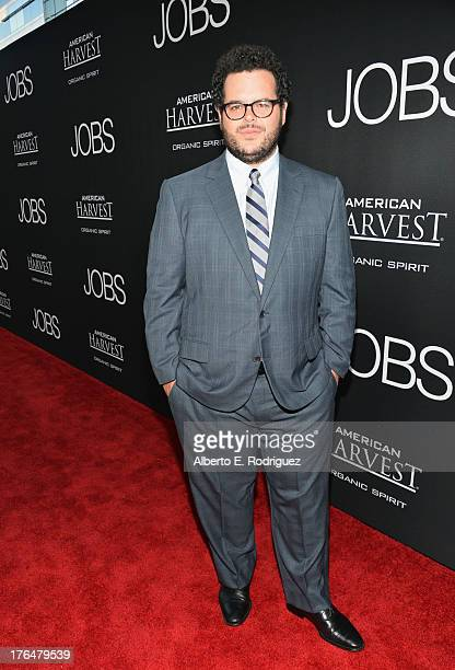 Actor Josh Gad attends the screening of Open Road Films and Five Star Feature Films' 'Jobs' at Regal Cinemas LA Live on August 13 2013 in Los Angeles...