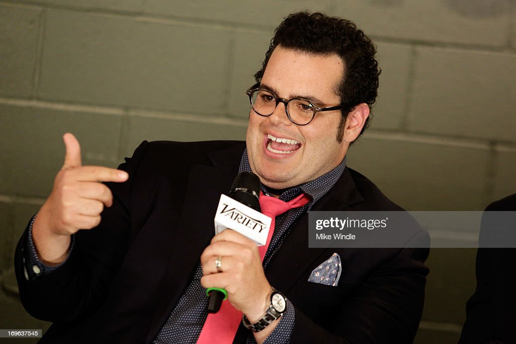 Actor <a gi-track='captionPersonalityLinkClicked' href=/galleries/search?phrase=Josh+Gad&family=editorial&specificpeople=4196023 ng-click='$event.stopPropagation()'>Josh Gad</a> attends the Variety Emmy Studio at Palihouse on May 29, 2013 in West Hollywood, California.