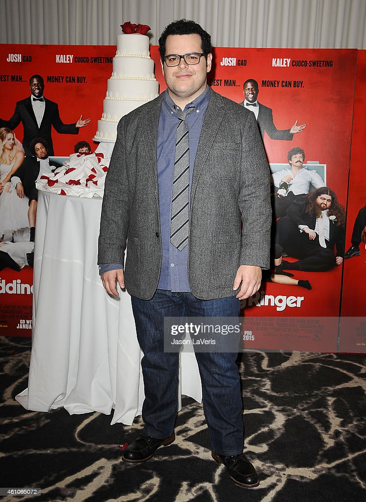 Actor Josh Gad Attends The Wedding Ringer Photo Call At Sls Hotel At Picture