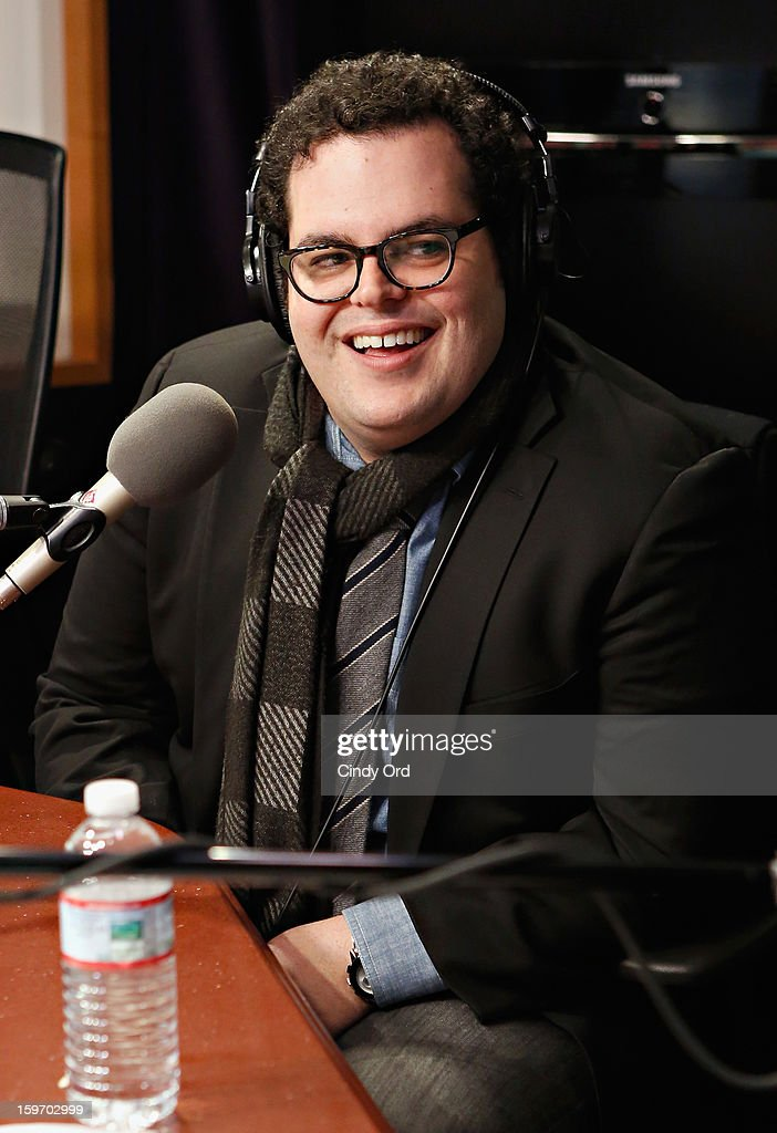 Actor <a gi-track='captionPersonalityLinkClicked' href=/galleries/search?phrase=Josh+Gad&family=editorial&specificpeople=4196023 ng-click='$event.stopPropagation()'>Josh Gad</a> visits 'The Opie & Anthony Show' at the SiriusXM Studios on January 18, 2013 in New York City.