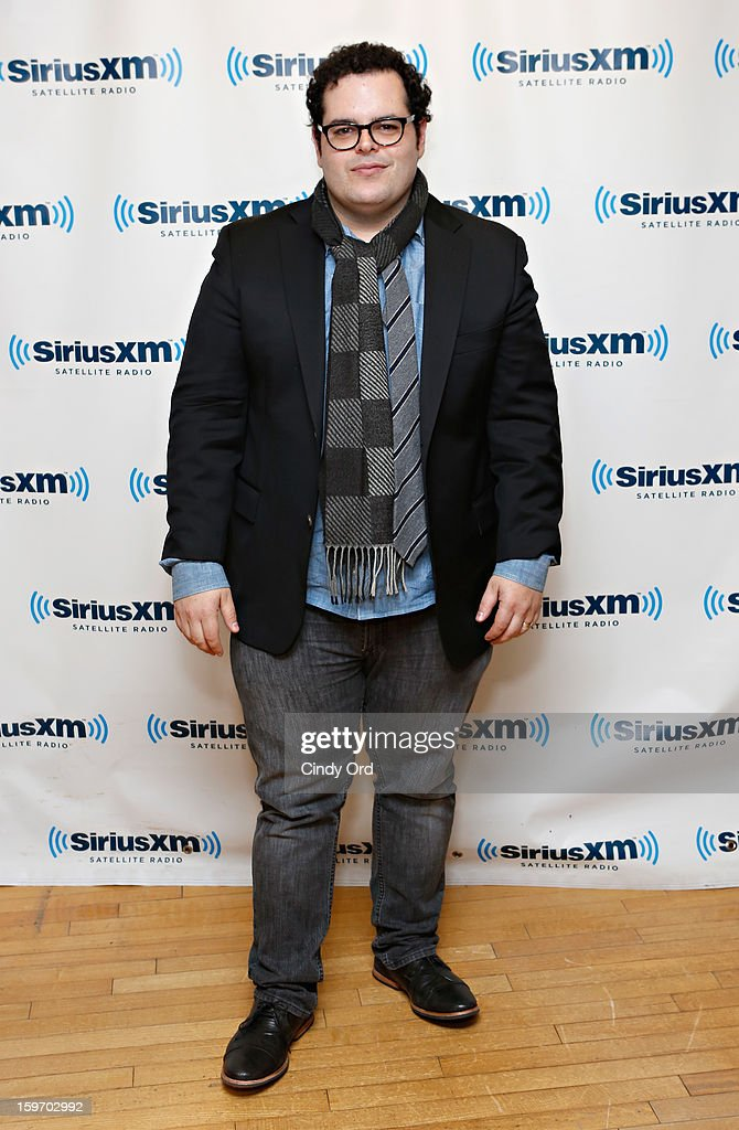 Actor <a gi-track='captionPersonalityLinkClicked' href=/galleries/search?phrase=Josh+Gad&family=editorial&specificpeople=4196023 ng-click='$event.stopPropagation()'>Josh Gad</a> visits the SiriusXM Studios on January 18, 2013 in New York City.