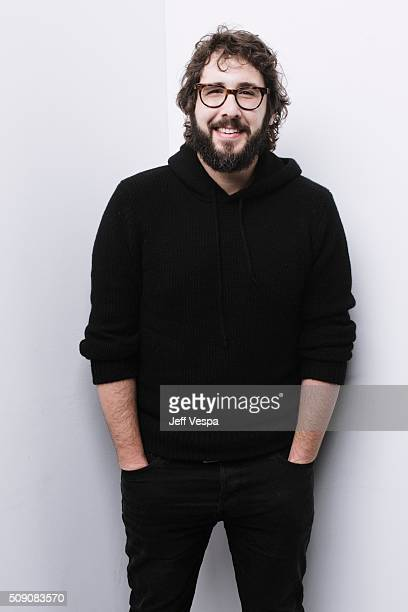 Actor Josh Groban of 'The Hollars' poses for a portrait at the 2016 Sundance Film Festival on January 24 2016 in Park City Utah
