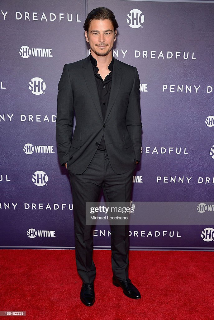 Actor <a gi-track='captionPersonalityLinkClicked' href=/galleries/search?phrase=Josh+Hartnett&family=editorial&specificpeople=206503 ng-click='$event.stopPropagation()'>Josh Hartnett</a> arrives at Showtime's 'PENNY DREADFUL' world premiere at The High Line Hotel on May 6, 2014 in New York City.