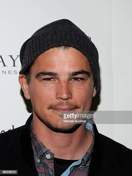 Actor Josh Hartnett arrives at the premiere of IFC Films' 'Breaking Upwards' at the Silent Movie Theatre on April 8 2010 in Los Angeles California