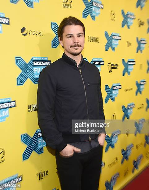 Actor Josh Hartnett arrives at the premiere of 'Wild Horses' during the 2015 SXSW Music FIlm Interactive Festival at the Paramount Theatre on March...