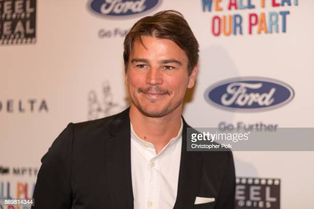Actor Josh Hartnett arrives for the 6th Annual 'Reel Stories Real Lives' event benefiting the MPTF on November 2 2017 in Los Angeles California