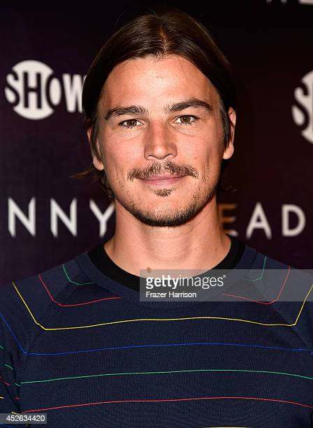 Actor Josh Hartnett attends Showtime's 'Penny Dreadful' premiere during ComicCon International 2014 at Hilton Bayfront on July 24 2014 in San Diego...