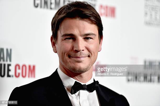 Actor Josh Hartnett attends the 30th Annual American Cinematheque Awards Gala at The Beverly Hilton Hotel on October 14 2016 in Beverly Hills...