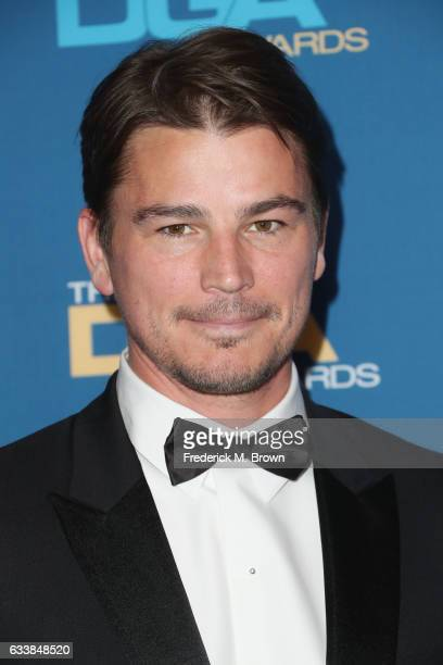 Actor Josh Hartnett attends the 69th Annual Directors Guild of America Awards at The Beverly Hilton Hotel on February 4 2017 in Beverly Hills...