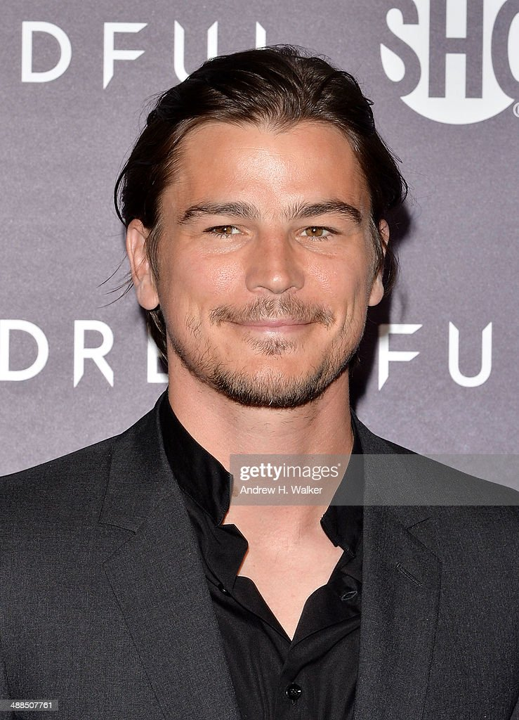 Actor <a gi-track='captionPersonalityLinkClicked' href=/galleries/search?phrase=Josh+Hartnett&family=editorial&specificpeople=206503 ng-click='$event.stopPropagation()'>Josh Hartnett</a> attends the 'Penny Dreadful' series world premiere at The Highline Hotel on May 6, 2014 in New York City.