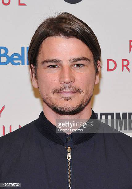 Actor Josh Hartnett attends the Showtime's 'Penny Dreadful' Season 2 Premiere at TIFF Bell Lightbox on April 21 2015 in Toronto Canada