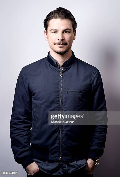 Actor Josh Hartnett poses for a portrait for the film 'Wild Horses' during 2015 SXSW Music Film Interactive Festival at the Paramount Theatre on...