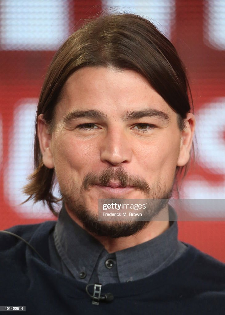 Actor <a gi-track='captionPersonalityLinkClicked' href=/galleries/search?phrase=Josh+Hartnett&family=editorial&specificpeople=206503 ng-click='$event.stopPropagation()'>Josh Hartnett</a> speaks onstage during the 'Penny Dreadful - Season Two' panel as part of the CBS/Showtime 2015 Winter Television Critics Association press tour at the Langham Huntington Hotel & Spa on January 12, 2015 in Pasadena, California.