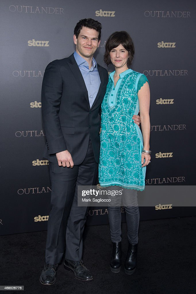 Actor Josh Helman (L) attends the 'Outlander' Mid-Season Premiere at the Ziegfeld Theater on April 1, 2015 in New York City.