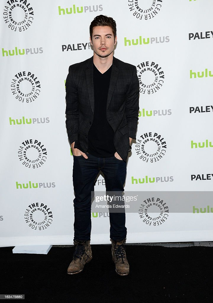 Actor Josh Henderson arrives at the 30th Annual PaleyFest: The William S. Paley Television Festival featuring 'Dallas' at Saban Theatre on March 10, 2013 in Beverly Hills, California.