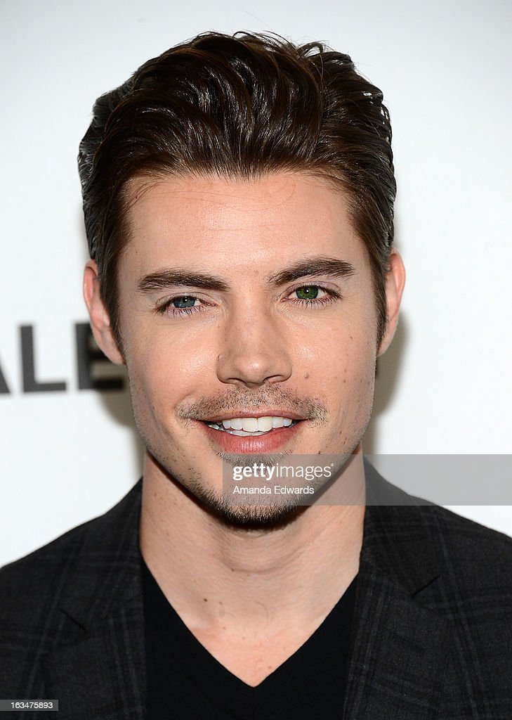 Actor <a gi-track='captionPersonalityLinkClicked' href=/galleries/search?phrase=Josh+Henderson+-+Actor&family=editorial&specificpeople=635918 ng-click='$event.stopPropagation()'>Josh Henderson</a> arrives at the 30th Annual PaleyFest: The William S. Paley Television Festival featuring 'Dallas' at Saban Theatre on March 10, 2013 in Beverly Hills, California.