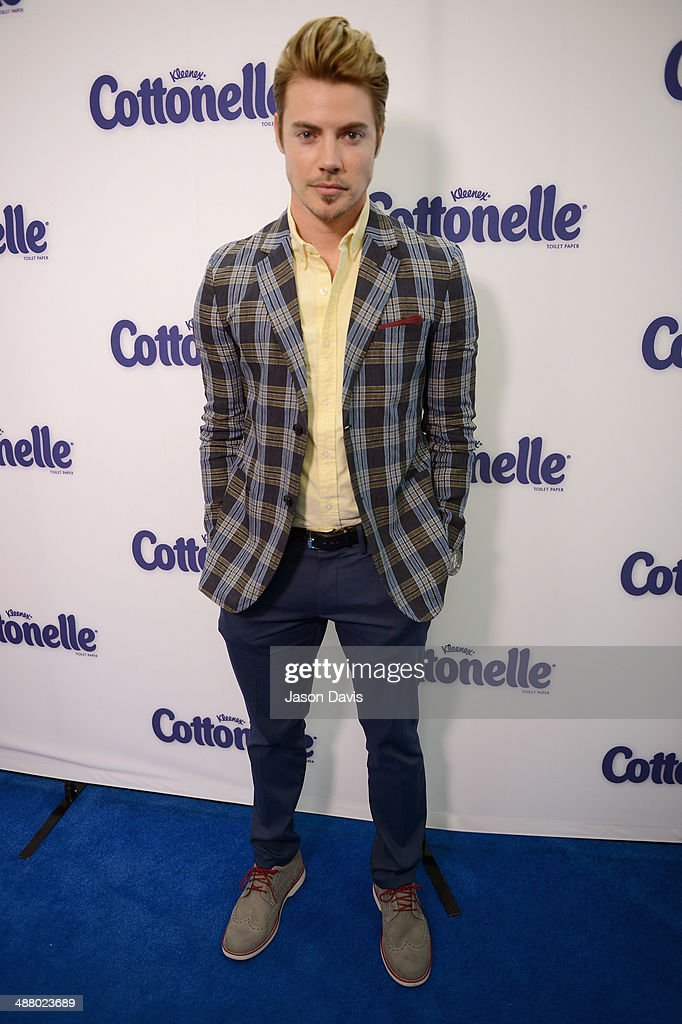 Actor <a gi-track='captionPersonalityLinkClicked' href=/galleries/search?phrase=Josh+Henderson+-+Actor&family=editorial&specificpeople=635918 ng-click='$event.stopPropagation()'>Josh Henderson</a> attends Cottonelle Celebrity 'Clean Room' at the 140th Kentucky Derby at Churchill Downs on May 3, 2014 in Louisville, Kentucky.