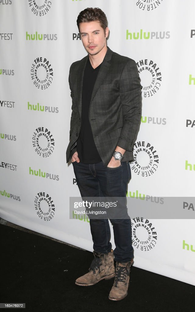 Actor Josh Henderson attends The Paley Center For Media's PaleyFest 2013 honoring 'Dallas' at the Saban Theatre on March 10, 2013 in Beverly Hills, California.