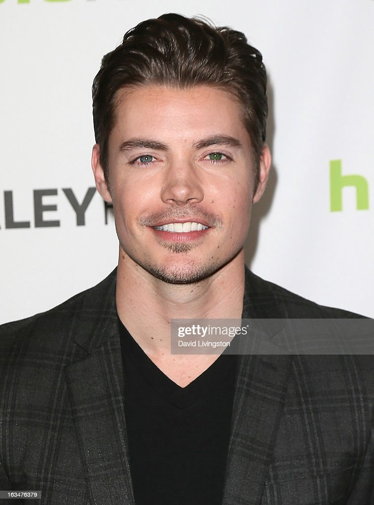 Actor <a gi-track='captionPersonalityLinkClicked' href=/galleries/search?phrase=Josh+Henderson+-+Actor&family=editorial&specificpeople=635918 ng-click='$event.stopPropagation()'>Josh Henderson</a> attends The Paley Center For Media's PaleyFest 2013 honoring 'Dallas' at the Saban Theatre on March 10, 2013 in Beverly Hills, California.