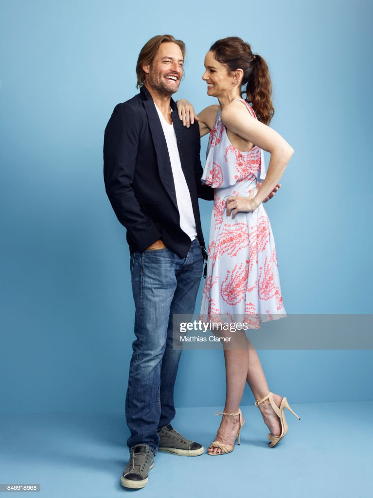 Actor Josh Holloway and actress Sarah Wayne Callies from 'Colony' are photographed for Entertainment Weekly Magazine on July 21, 2016 at Comic Con in the Hard Rock Hotel in San Diego, California.