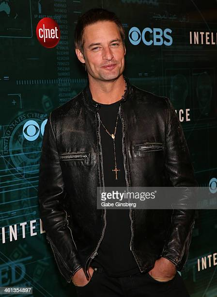 Actor Josh Holloway arrives at CNET'S premiere party for the CBS television show 'Intelligence' during the 2014 International CES at the Tao...