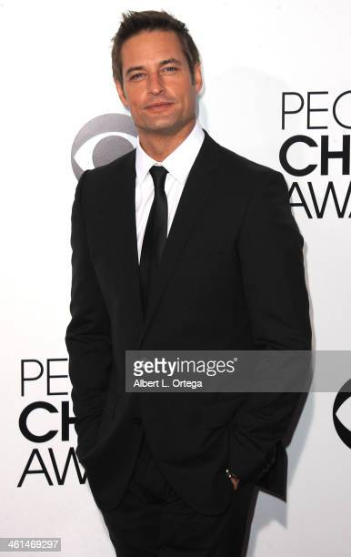 Actor Josh Holloway arrives for The 40th Annual People's Choice Awards Arrivals held at Nokia Theatre LA Live on January 8 2014 in Los Angeles...