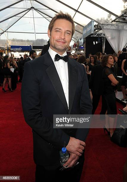 Actor Josh Holloway attends 20th Annual Screen Actors Guild Awards at The Shrine Auditorium on January 18 2014 in Los Angeles California
