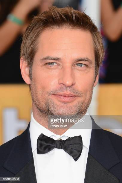 Actor Josh Holloway attends the 20th Annual Screen Actors Guild Awards at The Shrine Auditorium on January 18 2014 in Los Angeles California