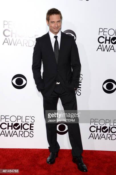 Actor Josh Holloway attends The 40th Annual People's Choice Awards at Nokia Theatre LA Live on January 8 2014 in Los Angeles California