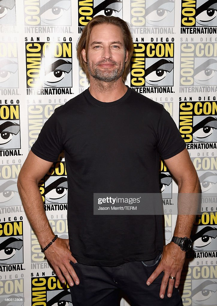 Actor Josh Holloway attends the 'Colony' press room during Comic-Con International 2015 at the Hilton Bayfront on July 10, 2015 in San Diego, California.