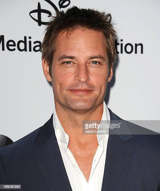 Actor Josh Holloway attends the Disney Media Networks International Upfronts at Walt Disney Studios on May 19 2013 in Burbank California