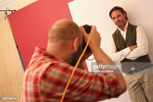 Actor Josh Holloway of USA Network's 'Colony' attends Behind The Scenes Of The Getty Images Portrait Studio Powered By Samsung Galaxy At 2015 Summer...