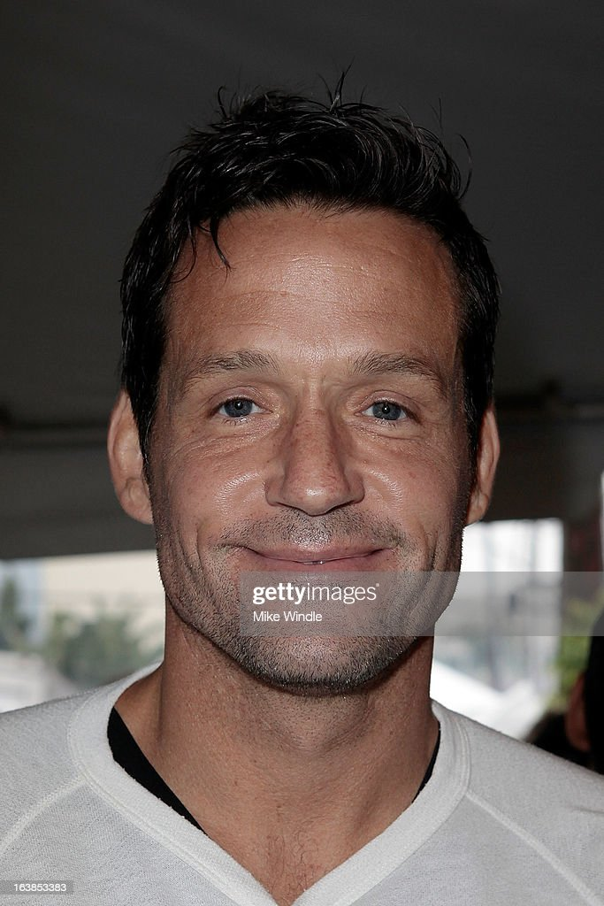 Actor <a gi-track='captionPersonalityLinkClicked' href=/galleries/search?phrase=Josh+Hopkins&family=editorial&specificpeople=619394 ng-click='$event.stopPropagation()'>Josh Hopkins</a> attends Rock & Reilly's Irish Rock Pub hosts 2nd annual St. Paddy's block party on Sunset Strip on March 16, 2013 in West Hollywood, California.