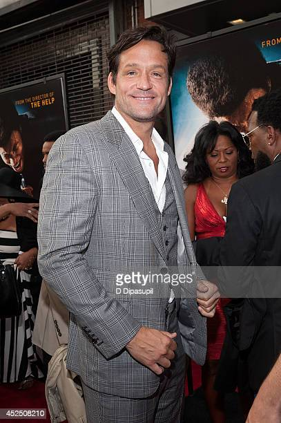 Actor Josh Hopkins attends the 'Get On Up' premiere at The Apollo Theater on July 21 2014 in New York City