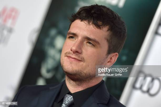 Actor Josh Hutcherson arrives at the AFI FEST 2017 presented by Audi screening of 'The Disaster Artist' at TCL Chinese Theatre on November 12 2017 in...