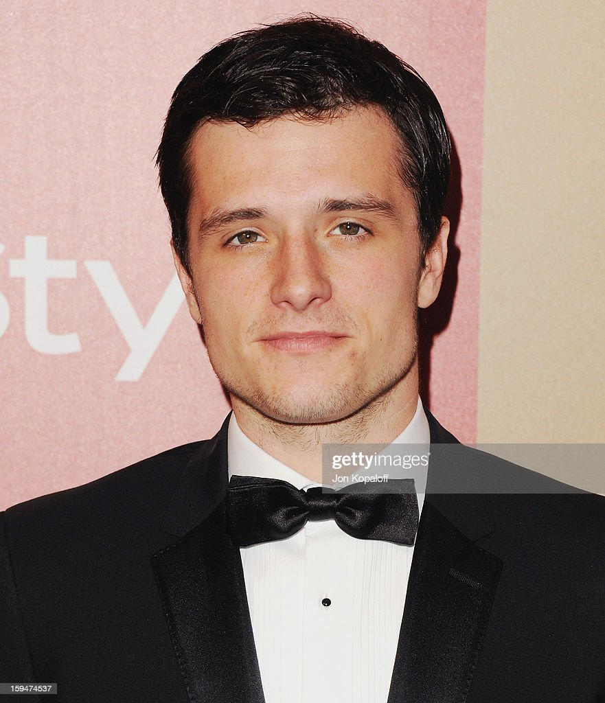 Actor Josh Hutcherson arrives at the InStyle And Warner Bros. Golden Globe Party at The Beverly Hilton Hotel on January 13, 2013 in Beverly Hills, California.