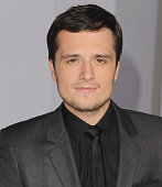 Actor Josh Hutcherson arrives at the Los Angele Premiere 'The Hunger Games Mockingjay Part 1' at Nokia Theatre LA Live on November 17 2014 in Los...