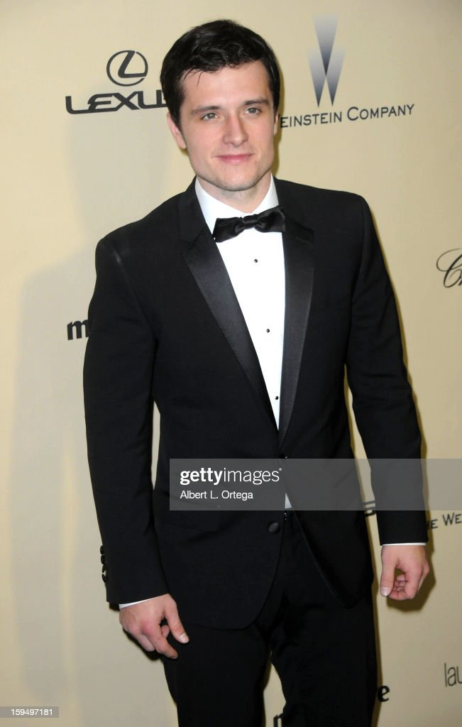 Actor Josh Hutcherson arrives for the Weinstein Company's 2013 Golden Globe Awards After Party - Arrivals on January 13, 2013 in Beverly Hills, California.